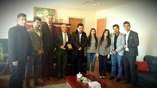Dean meeting with Dean and Students of Technical Institute of Haweja