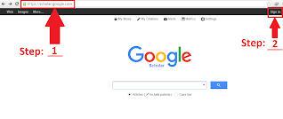 Create a Google Scholar - Step by Step